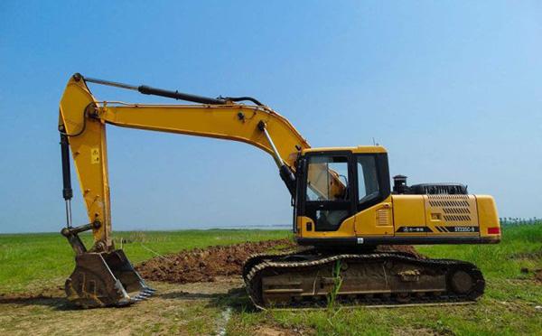 小挖掘机操作