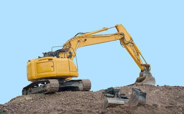 挖掘机履带维修